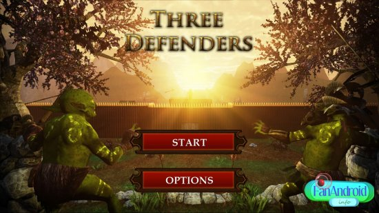 Three Defenders