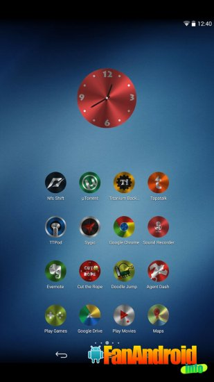 Steelicons Multilauncher Theme