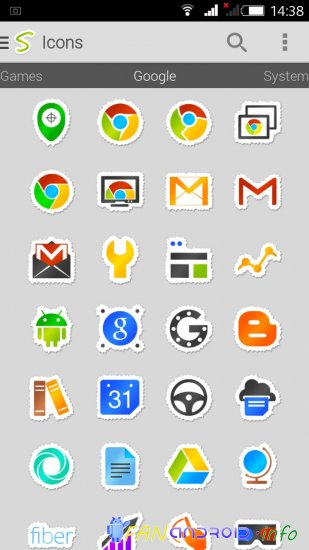 Sticko - Icon Pack