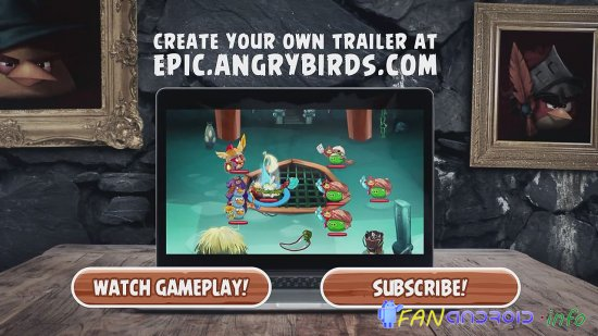( Анонс ) Angry Birds Epic для Android