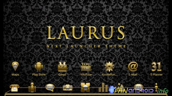 Next Launcher Theme Laurus