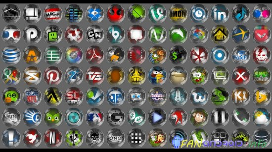 Smoke & Glass Icon Pack