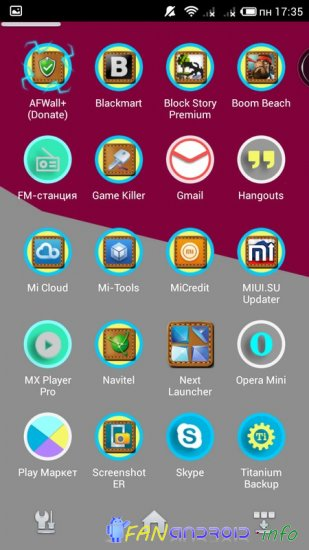 Kitkat material glow HD icons