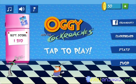 Oggy and cockroaches