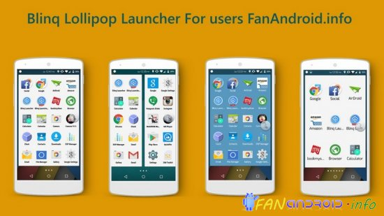 Blinq Lollipop Launcher Prime Patched